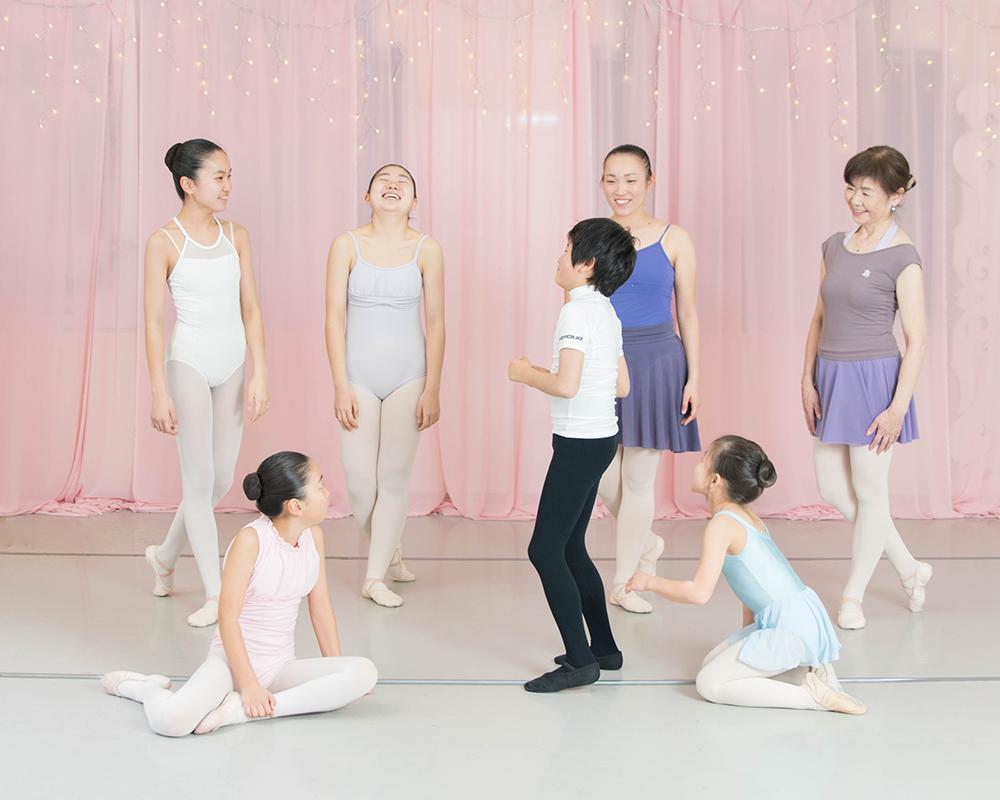 バレエスクールの紹介
